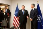 New US envoy Pompeo tackles NATO on spending, Russia