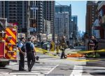 Van plows into Toronto crowd, killing ten