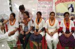 10 दिनों से हड़ताल पर बैठी नर्सों ने शुरू की भूख हड़ताल