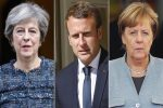 France, Germany, Britain say 'committed' to upholding Iran deal