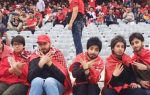 ईरान में महिलाओं ने दाढ़ी-मूंछ लगाकर देखा फुटबॉल मैच, फोटो वायरल