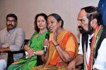 Former Lok Sabha Speaker Meira Kumar alleges KCR has murdered democracy