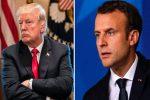 Macron tells Trump US tariffs are 'illegal', EU will respond