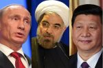China hosts summit with Russia, Iran as nuclear deal wobbles