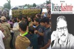Thousands throng funeral of slain Indian Kashmir editor