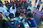 Ayudh distributes learning kits to tribal kids