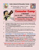 Consular Camp in Garland – June 16 Saturday
