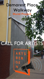 """Northern NJ Community Foundation Announces  Call for Artists for  Creative Hackensack's """"Demarest Place Walkway Mural"""""""