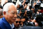 Ex-Malaysian PM Najib appears in court on graft charges