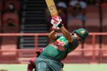 amim and Shakib push Bangladesh to respectable total
