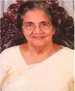 പി.വി. ചെറിയാന്റെ മാതാവ് പൊന്നമ്മ വര്ഗീസ് (89) നിര്യാതയായി
