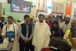 ഹജ്ജ് തീര്ത്ഥാടക സംഘം സൗദിയിലെത്തിത്തുടങ്ങി; മലയാളികളുടെ ആദ്യ സംഘം സൗദി സമയം രാവിലെ 8:30-ന് ജിദ്ദയിലെത്തി