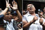 Suu Kyi's image in shreds as Myanmar jails Reuters pair