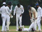 बटलर के शॉट से श्रीलंका के खिलाड़ी के सिर में लगी चोट, अपनी ही जगह पर 20 मिनट तक तड़पता रहा निशांका