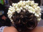 Bridal Hairstyle फूलों वाले बन हैं इस वेडिंग सीजन ट्रेंड में
