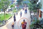 സ്കൂള് കോമ്പൗണ്ടില് കയറി വിദ്യാര്ത്ഥിനിയുടെ കമ്മല് മോഷ്ടിച്ച് കടന്നുകളഞ്ഞ സ്ത്രീയെ അന്വേഷിച്ച് പോലീസ്