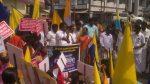 കത്തോലിക്കാ സഭയില് ജാതിവിവേചനത്തിനെതിരെ വിശ്വാസികളുടെ 'അവകാശമുറപ്പിക്കല്' സമരം