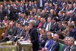 UK parliament deals historic defeat to PM May's Brexit deal