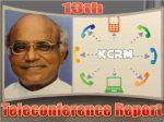 KCRMNA പതിമൂന്നാമത് ടെലികോണ്ഫറന്സ് റിപ്പോര്ട്ട്