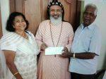 യോങ്കേഴ്സ് സെന്റ് തോമസ് ഓര്ത്തഡോക്സ് ഇടവക പ്രളയ ദുരിതാശ്വാസ നിധിയിലേക്ക് 25,000 ഡോളര് സംഭാവന നല്കി