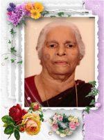 മറിയാമ്മ യോഹന്നാന് താമരവേലില് (86) നിര്യാതയായി