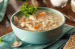 Creamy Chicken and Veggie Wild Rice Soup
