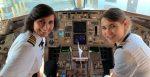 അമ്മയും മകളും നിയന്ത്രിക്കുന്ന ഡെല്റ്റാ ബോയിംഗ് 757 വിമാനം !!