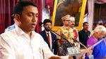 आधी रात को गोवा को मिला नया CM, प्रमोद सावंत ने ली शपथ, 2 डिप्टी CM भी होंगे