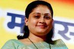 Modi looks like a 'terrorist', alleges Congress' star campaigner Vijaya Shanti