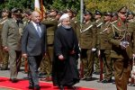 Iran's Rouhani seeks to counter US pressure on first Iraq visit