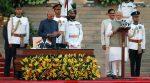 നമോ വീണ്ടും; നരേന്ദ്ര മോദിയുടെ രണ്ടാം മന്ത്രിസഭ അധികാരമേറ്റു