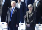 Donald Trump to hold talks with British PM Theresa May amid protests