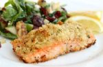 Pistachio-Crusted Salmon (Cookery)