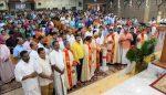 ചിക്കാഗോ മോര്ട്ടണ്ഗ്രോവ് സെന്റ് മേരിസില് ദശവത്സരത്തിന് തിരിതെളിഞ്ഞു