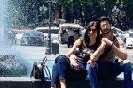 बॉयफ्रेंड रोहमन का हाथ थामे नजर आई सुष्मिता