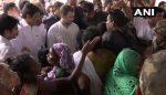 കവളപ്പാറയിലെ ദുരിതാശ്വാസ ക്യാംപില് രാഹുല്; തിങ്കളാഴ്ച വയനാട് സന്ദര്ശിക്കും
