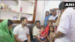 രാഹുൽ ഗാന്ധി ഷഹല ഷെറിന്റെ വീട് സന്ദര്ശിച്ചു