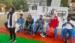എസ്.എഫ്ഐ തകര്ത്ത കാലിക്കറ്റ് സര്വകലാശാല ശാഹിന്ബാഗ് പുനസ്ഥാപിച്ചു