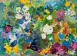 Just in Time for Spring!  Artist Marsha Heller to Exhibit  New Landscapes, 'Fragments of Beauty', at Cafe Mignon