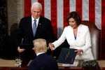 State of the Union 2020: Nancy Pelosi tears up Trump's speech