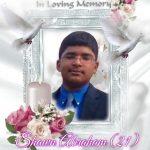 സജി എബ്രഹാമിന്റെ പുത്രന് ഷോണ് എബ്രഹാം (21) നിര്യാതനായി