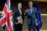 EU, Britain intensify talks on post-Brexit future