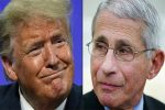 As virus surges, Trump escalates conflict with Fauci