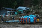 Two dead, 16 feared dead in Japan heavy rain: media