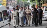 Last rites of Vikas Dubey, brother-in-law brought quietly to take body