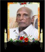 ടി ജെ ബേബി സാർ (88) നിര്യാതനായി