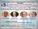 """""""Indian authorities have no regard for the Constitution or the laws on the books"""" – Pastor Bryan Nerren"""