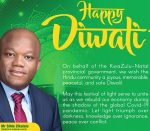 Hindus push for public holiday on Diwali in KwaZulu-Natal