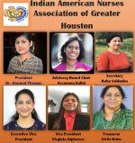 ഇന്ത്യൻ അമേരിക്കൻ നഴ്സസ് അസോസിയേഷൻ ഓഫ് ഗ്രേറ്റർ ഹ്യൂസ്റ്റണ് പുതിയ സാരഥികൾ