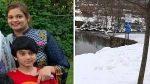 അമ്മയും മകനും ന്യൂജഴ്സിയിലെ വെള്ളക്കെട്ടില് മരിച്ച നിലയില്